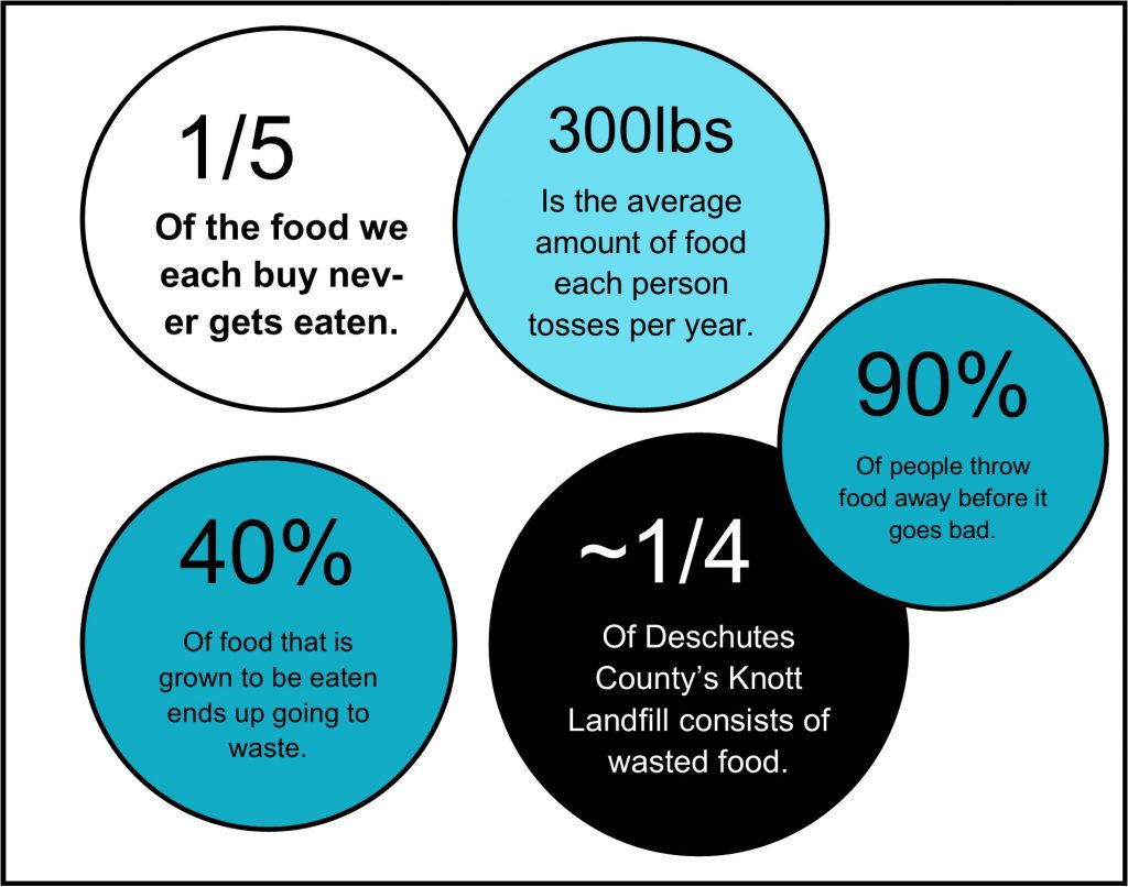 Food Waste Bubble Stats