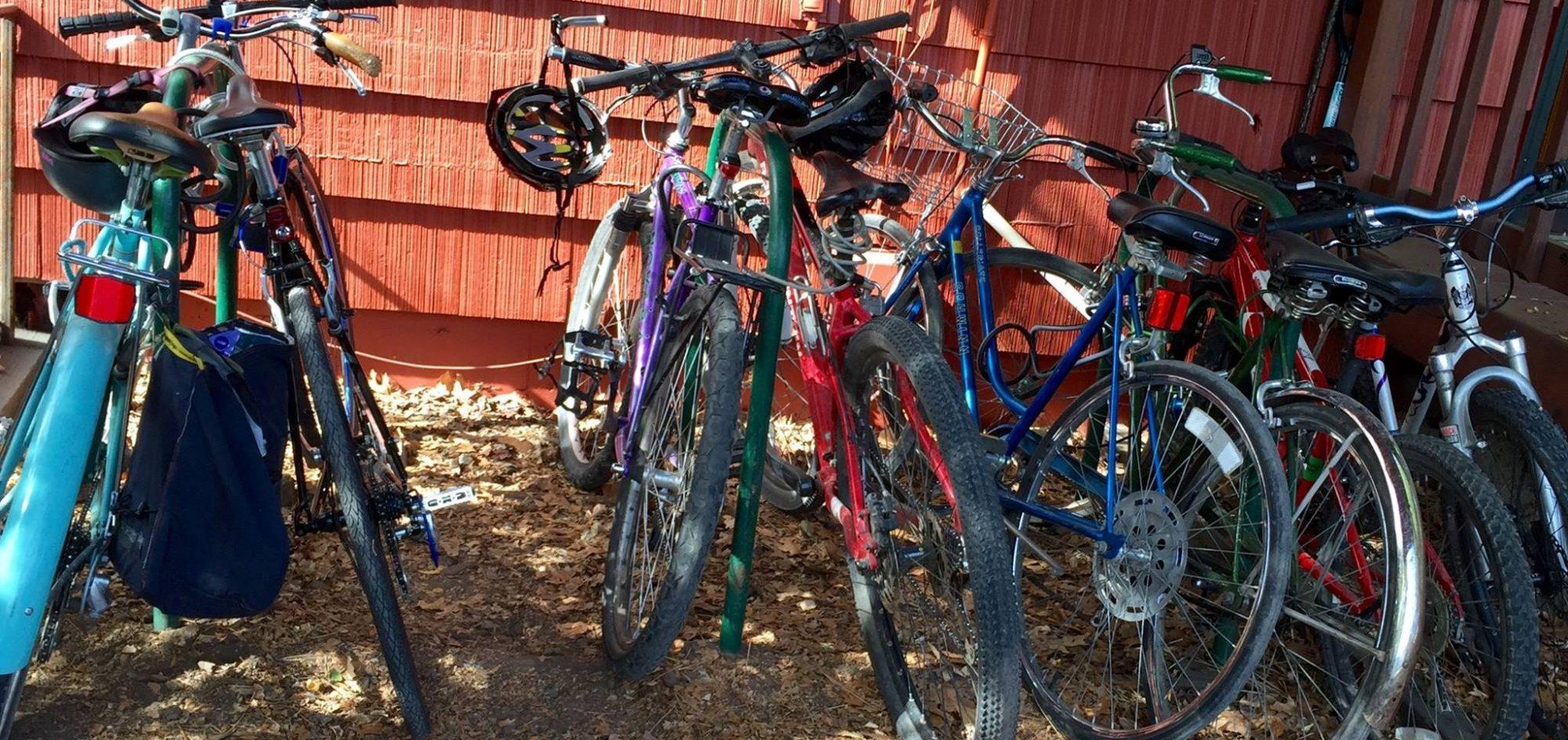 Bikes at TEC