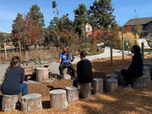Staff training for incorporating garden based education with pre-K youth.
